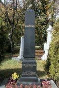 Mikszáth Kálmán síremléke (fotó: Legeza Dénes István)