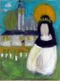 Bársony Kristóf: Szent Margit / gyermekrajz