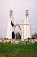 Csete György: Megbékélés kápolna, 1998 Beremend(fotó: Németh Gábor Árpád)