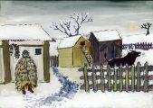 Xu Yi Lili: Illusztráció Petőfi Sándor A puszta télen című művéhez / gyermekrajz