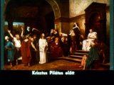 Munkácsy Mihály: Krisztus Pilátus előtt (Az ásító inas c. diafilm részlete)
