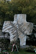 A kommunizmus áldozatainak emlékműve (fotó: Legeza Dénes István)