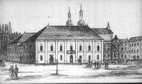 A kassai színház képe (A Katona József c. diafilm részlete)