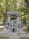Blaha Lujza síremléke (fotó: Legeza Dénes István)