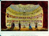 Rohn Alajos: A régi Nemzeti Színház belseje (fotó: Gottl Egon)