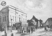 A pesti magyar szinház (A Vörösmarty Mihály c. diafilm részlete)