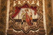 Passió - Jézus Pilátus előtt. Miseruha részlete (Fotó: Legeza Dénes István)