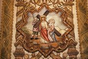 Passió - Jézus találkozik Máriával Miseruha részlete (Fotó: Legeza Dénes István)
