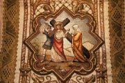 Passió - Jézus vigasztalja a siránkozó asszonyokat. Miseruha részlete (Fotó: Legeza Dénes István)