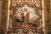 Passió - Jézust megfosztják ruháitól. Miseruha részlete (Fotó: Legeza Dénes István)