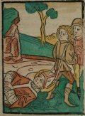 Szent Márk (Illusztráció a Pannonhalmán őrzött Legenda Aurea Sanctorum című ősnyomtatvány 1482-es augsburgi kiadásából)