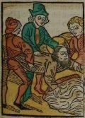 Szent Vitális (Illusztráció a Pannonhalmán őrzött Legenda Aurea Sanctorum című ősnyomtatvány 1482-es augsburgi kiadásából)