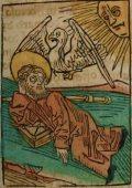 Szerváciusz püspök (Illusztráció a Pannonhalmán őrzött Legenda Aurea Sanctorum című ősnyomtatvány 1482-es augsburgi kiadásából)
