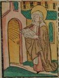Szent Valburga (Illusztráció a Pannonhalmán őrzött Legenda Aurea Sanctorum                         című ősnyomtatvány 1482-es augsburgi kiadásából)