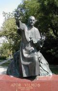 Boldog Apor Vilmos szobra Budapesten (fotó: Legeza Dénes István)