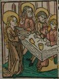 Szent Petronella (Illusztráció a Pannonhalmán őrzött Legenda Aurea Sanctorum című ősnyomtatvány 1482-es augsburgi kiadásából)