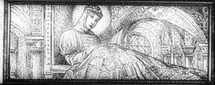 Gizella legenda (A Magyar szentek I. c. diafilm részlete)