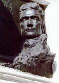 Csikász Imre: Batsányi János domborművének részlete - Veszprém (fotó: Legeza Dénes István)
