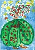 Fialowski Réka: Illusztráció Kosztolányi Dezső Fák beszéde című művéhez / gyermekrajz