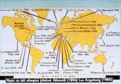 Érdekességek az olimpiák történetéből I. rész. Olimpiai helyszínek