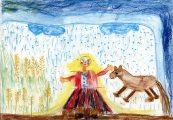 Fialowski Réka: Ess, eső, ess / gyermekrajz