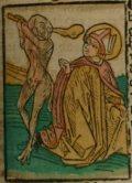 Szent Apollinaris (Illusztráció a Pannonhalmán őrzött Legenda Aurea Sanctorum című ősnyomtatvány 1482-es augsburgi kiadásából)