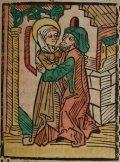 Szent Anna (Illusztráció a Pannonhalmán őrzött Legenda Aurea Sanctorum című ősnyomtatvány 1482-es augsburgi kiadásából)