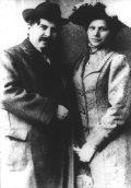Móricz Zsigmond feleségével (A Móricz Zsigmond c. diafilm részlete)