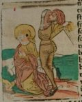 Szent Abdon és Szennen (Illusztráció a Pannonhalmán őrzött Legenda Aurea Sanctorum című ősnyomtatvány 1482-es augsburgi kiadásából)
