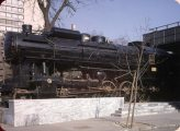 424.001-es gőzmozdony (Közlekedési Múzeum) (fotó: Gottl Egon)