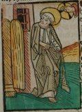 Vasas Szent Péter (Illusztráció a Pannonhalmán őrzött Legenda Aurea Sanctorum című ősnyomtatvány 1482-es augsburgi kiadásából)