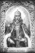 Szent István (A Magyar szentek I. c. diafilm részlete)