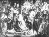 István koronázása (A Magyar szentek I. c. diafilm részlete)