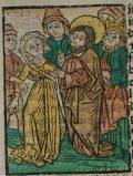 Szent Bertalan (Illusztráció a Pannonhalmán őrzött Legenda Aurea Sanctorum című ősnyomtatvány 1482-es augsburgi kiadásából)