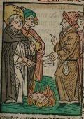 Domonkos (Illusztráció a Pannonhalmán őrzött Legenda Aurea Sanctorum című ősnyomtatvány 1482-es augsburgi kiadásából)