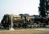 A MÁV 424-320 pályaszámú univerzális gőzmozdonya, 1956 (A Műemlék mozdonyok c. diafilm részlete)