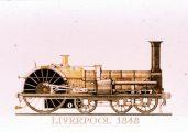 Liverpool, 1848 (A Régi mozdonyok c. diafilm részlete)