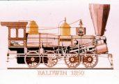 Baldwin, 1850 (A Régi mozdonyok c. diafilm részlete)