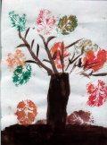 Fialowski Réka: Az ősz színei / gyermekrajz