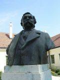 Deák Ferenc mellszobra - Kehida (fotó: Németh Gábor Árpád)
