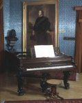 Zongora Liszt Ferenc hagyatékából (fotó: Gottl Egon)
