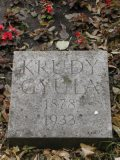 Krúdy Gyula síremlékének részlete (fotó: Legeza Dénes István)
