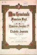 Liszt Ferenc magyar koronázási miséjének díszkiadása (fotó: Gottl Egon)