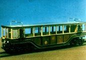 Földalatti vasút motorkocsija, 1896 (I. Régi budapesti járművek c. diafilm részlete)