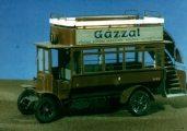 Emeletes autóbusz, 1915 (I. Régi budapesti járművek c. diafilm részlete)