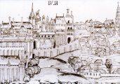 Buda Schedel krónika (A Mathias Rex c. diafilm részlete)