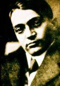 Ady Endre 1912-1913-ban Budapesten -az Ady Endre, a Hortobágy poétája c. diafilm részlete(fotó: Székely Aladár)