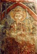 Alexandriai Szent Katalin. Ófehértó, Szt. Erzsébet r. k. plébániatemplom (fotó: Németh Gábor Árpád)
