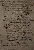 Vörösmarty Mihály: Gondolatok a könyvtárban, kézirat(fotó: Lugosi Lugo                         László)