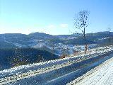 Téli napsütés a Mátrában (fotó: Bánkeszi Katalin)